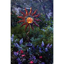 Burnished Sun Solar Garden Stake