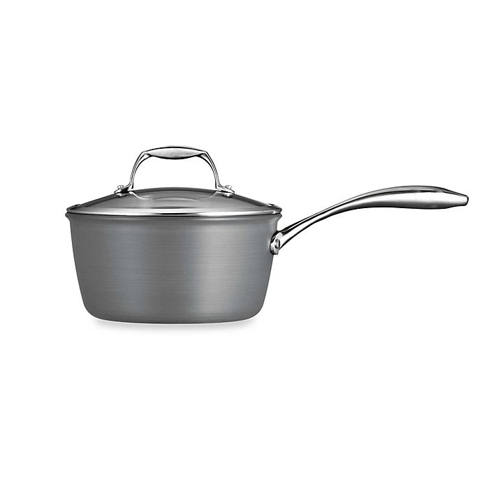 Alternate image 1 for Tramontina® Gourmet Hard Anodized Covered Saucepans