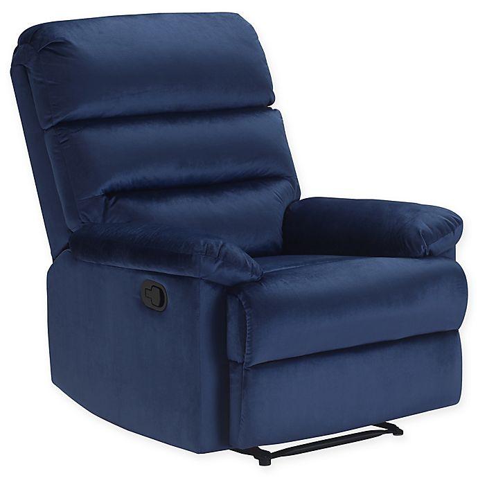 Wondrous Truly Home Davis Recliner Chair Bed Bath Beyond Bralicious Painted Fabric Chair Ideas Braliciousco