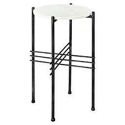 Southern Enterprises© Sampson Tall Marble Accent Table