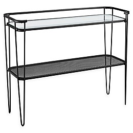 Forest Gate Urban Industrial Accent Entryway Table with Hairpin Legs