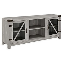 Forest Gate 58-Inch Wheatland Rustic Farmhouse TV Stand