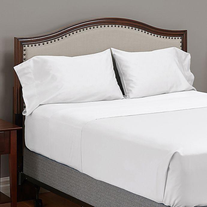 Alternate image 1 for MyPillow® 100% Giza-Egyptian Cotton King Pillowcases in White (Set of 2)