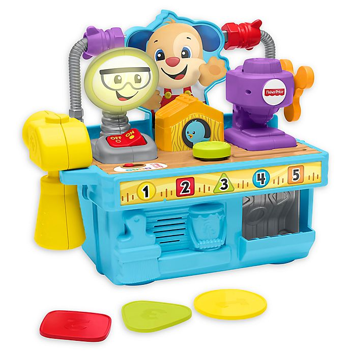 Alternate image 1 for Fisher-Price® Laugh & Learn Busy Learning Tool Bench