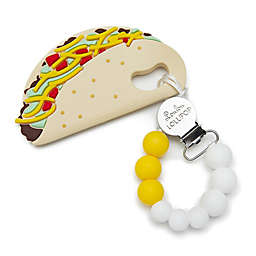 Loulou Lollipop Taco Teether with Clip
