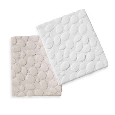 Dream Decor Pebbletex Quilted Waterproof Crib Mattress Pad