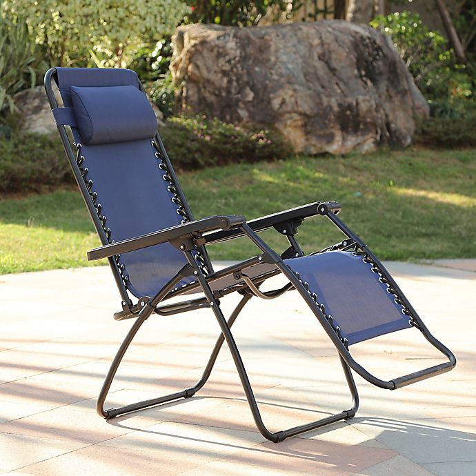 Zero Gravity Outdoor Recliner Chair | Bed Bath & Beyond