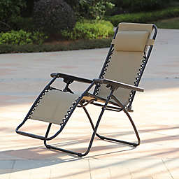 Winsome House® Zero Gravity Outdoor Recliner Chair