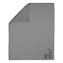 Lambs & Ivy® Painted Forest Waffle Knit Baby Blanket in Heather Grey