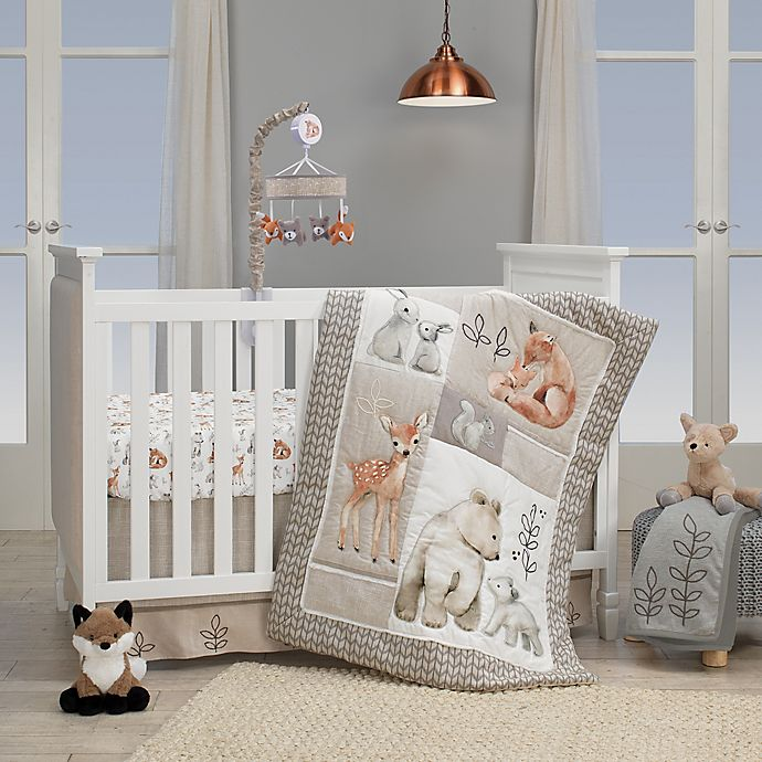 Lambs Amp Ivy 174 Painted Forest 4 Piece Crib Bedding Set In