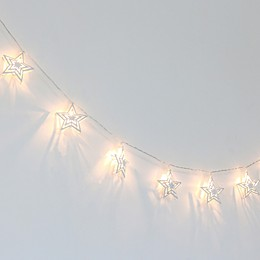 The Peanutshell™ Farmhouse 5.5-Foot 10-Light LED String Lights in White