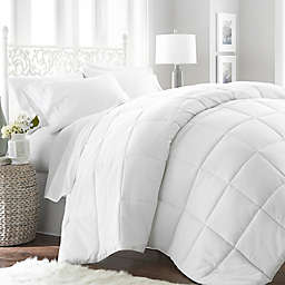 Home Collection All Seasons Down Alternative Queen Comforter in White