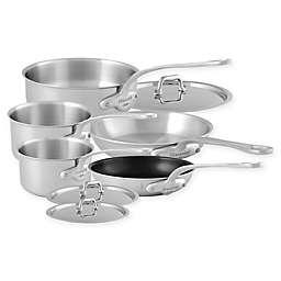 Mauviel 1830® M'Urban Stainless Steel 8-Piece Cookware Set