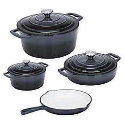 CS Kochsysteme™ XANTEN Enameled Cast Iron 7-Piece Cookware Set