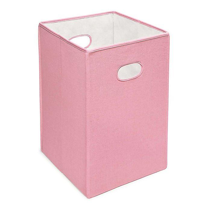 Alternate image 1 for Badger Basket Folding Hamper Storage Bin