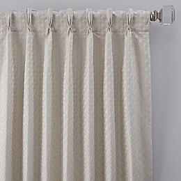Glam Pinch Pleat Window Curtain Panel