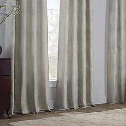 Grid Window Curtain Panels