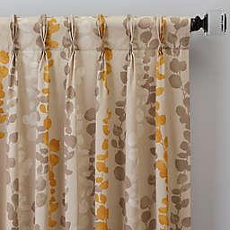 Honesty Pinch Pleat Window Curtain Panel (Single)