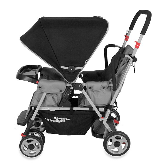 Alternate image 1 for Joovy® Caboose Too Ultralight Stand-On Tandem Stroller in Charcoal
