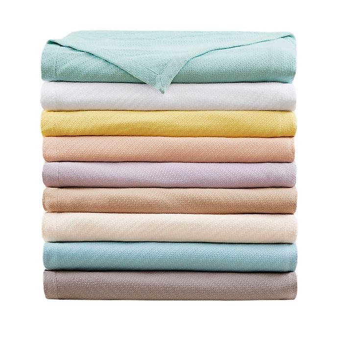 Alternate image 1 for Madison Park Liquid Cotton Blanket