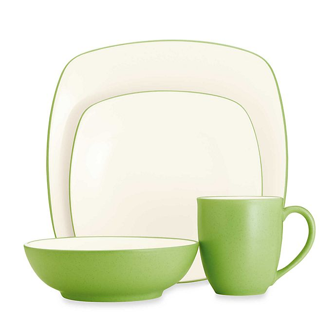 Alternate image 1 for Noritake® Colorwave Square Dinnerware Collection in Apple
