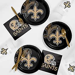 NFL New Orleans Saints 56-Piece Complete Tailgate Party Kit