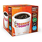 Dunkin Donuts® K-Cup® Pods 36-Count Variety Pack