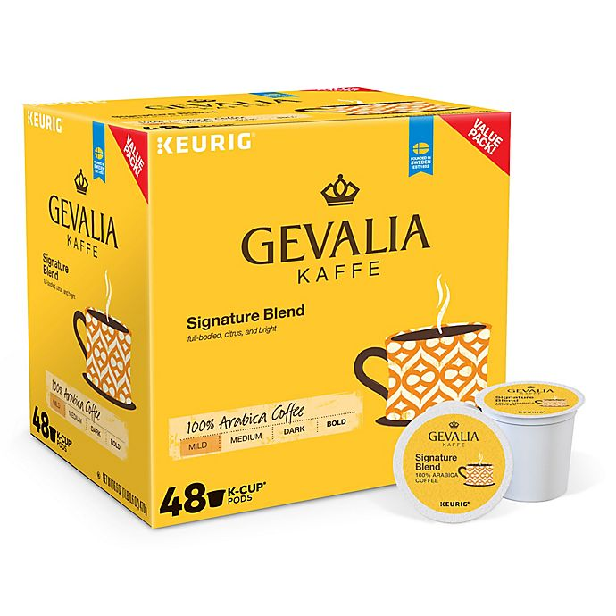 Alternate image 1 for Gevalia® Signature Blend Coffee Keurig® K-Cup® Pods 48-Count