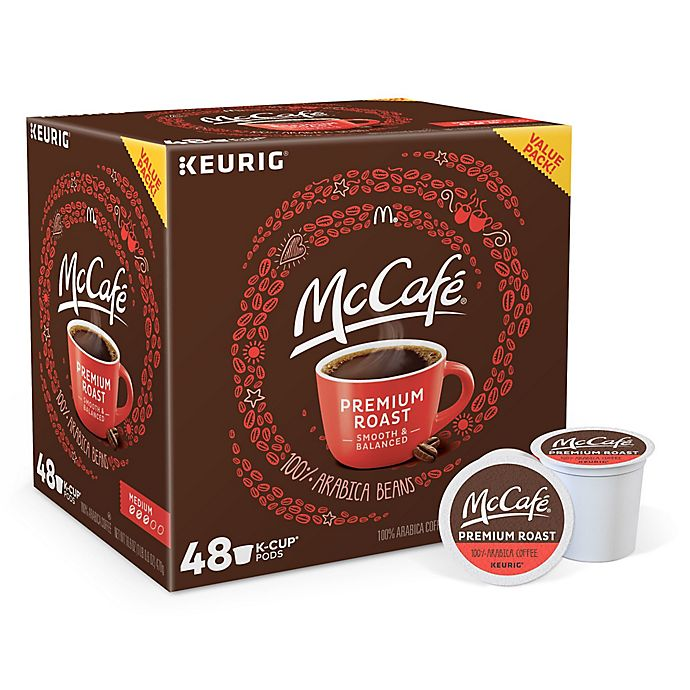 Alternate image 1 for McCafe® Premium Roast Coffee Keurig® K-Cup® Pods 48-Count