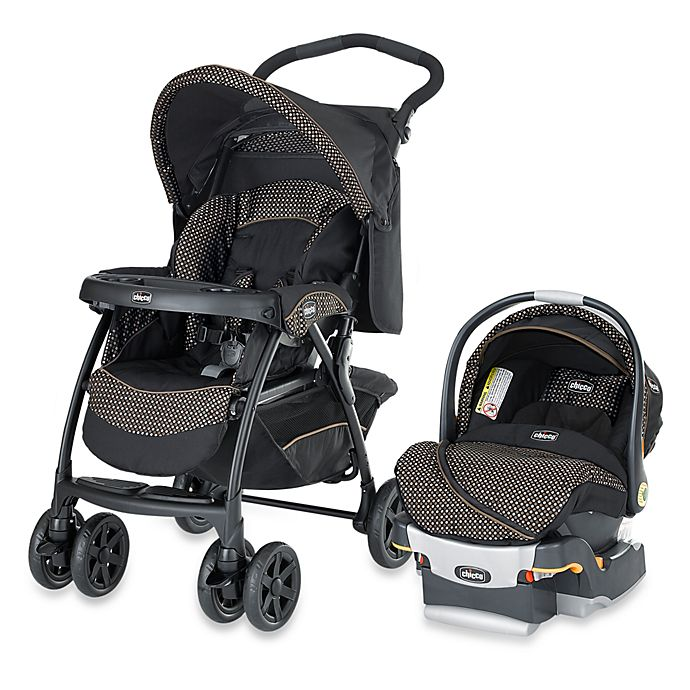 Alternate image 1 for Chicco® Cortina® KeyFit 30 Travel System in Minerale