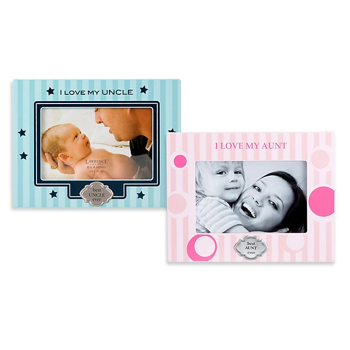 I Love My Uncle & Aunt Picture Frames | buybuy BABY