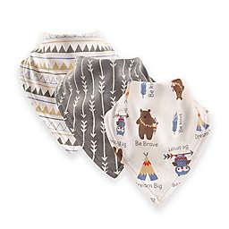 Luvable Friends® 12-Pack Tribe Bandana Bibs in Grey
