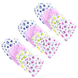Yoga Sprout® 12-Pack Floral Bandana Bibs in Pink