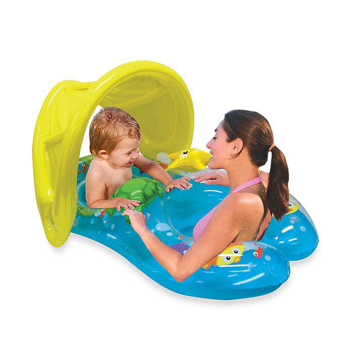Alternate image 1 for Mommy & Me Sun Shade Baby Float