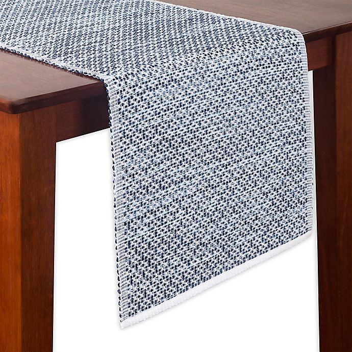Alternate image 1 for Portico 72-Inch Table Runner in Blue