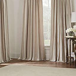 Luxe Wide Stripe Window Curtain Panels