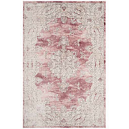 Safavieh Palermo Marbella 3-Foot x 10-foot Runner in Rose