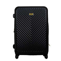 Macbeth Collection® Molded Quilt Spinner Luggage in Black