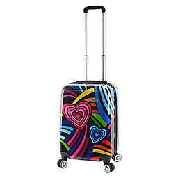 Mia Viaggi Pop Love 20-Inch Carry On Luggage
