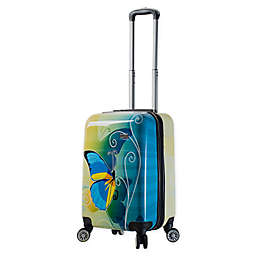 Mia Viaggi Butterfly 20-Inch Carry On Luggage