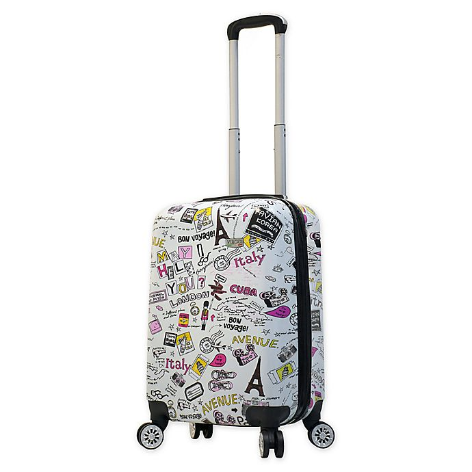 Alternate image 1 for Mia Viaggi Vintage Traveler 20-Inch Carry On Luggage