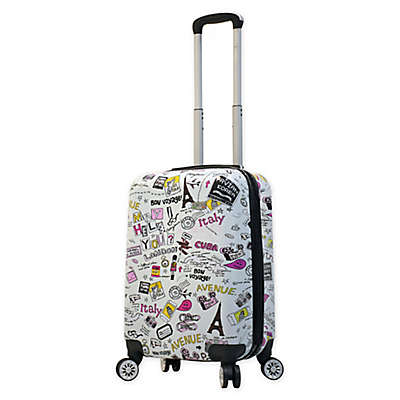 Mia Viaggi Vintage Traveler 20-Inch Carry On Luggage