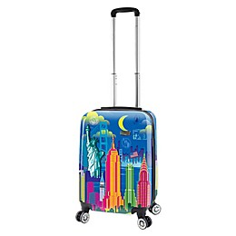 Mia Viaggi New York Lifestyle 20-Inch Carry On Luggage