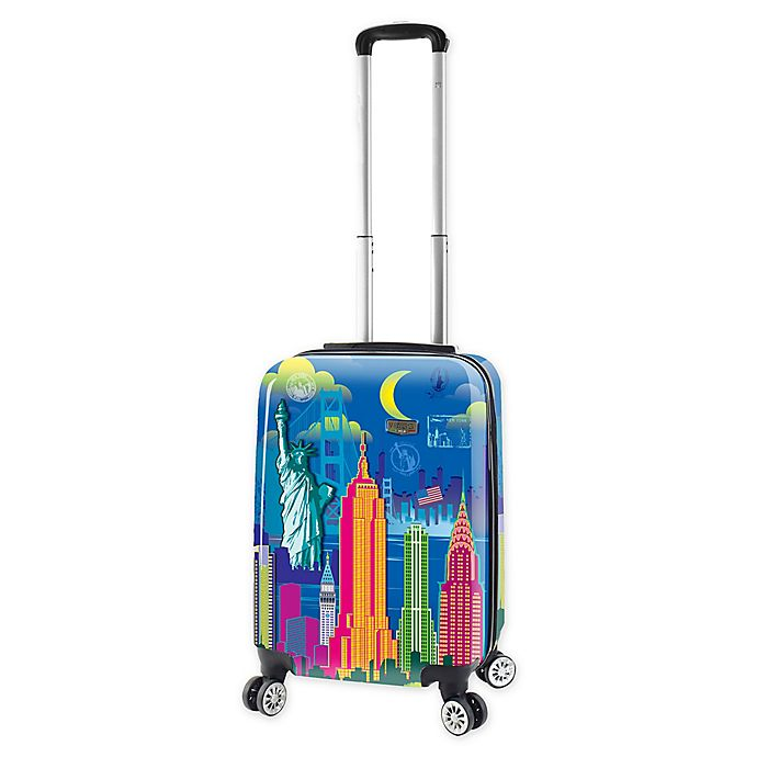 Alternate image 1 for Mia Viaggi New York Lifestyle 20-Inch Carry On Luggage
