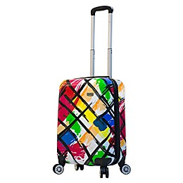 Mia Viaggi Pop Brush 20-Inch Carry On Luggage