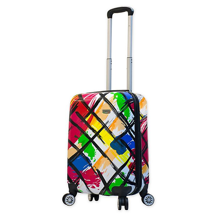 Alternate image 1 for Mia Viaggi Pop Brush 20-Inch Carry On Luggage