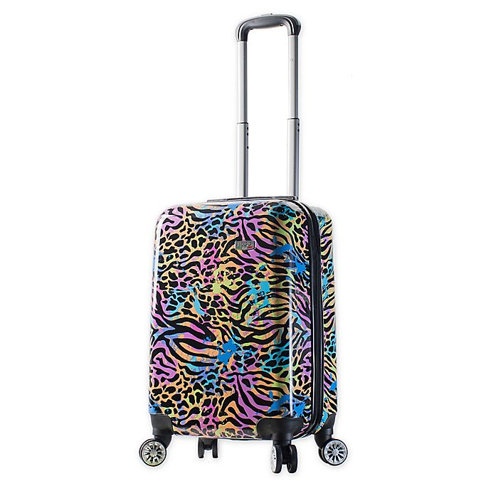 Alternate image 1 for Mia Viaggi Pop Animal Paint 20-Inch Carry On Luggage