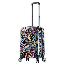 Mia Viaggi Pop Animal Paint 20-Inch Carry On Luggage
