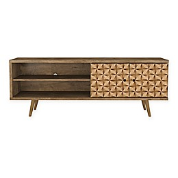Manhattan Comfort Liberty 62.99-Inch TV Stand with 3D Panel