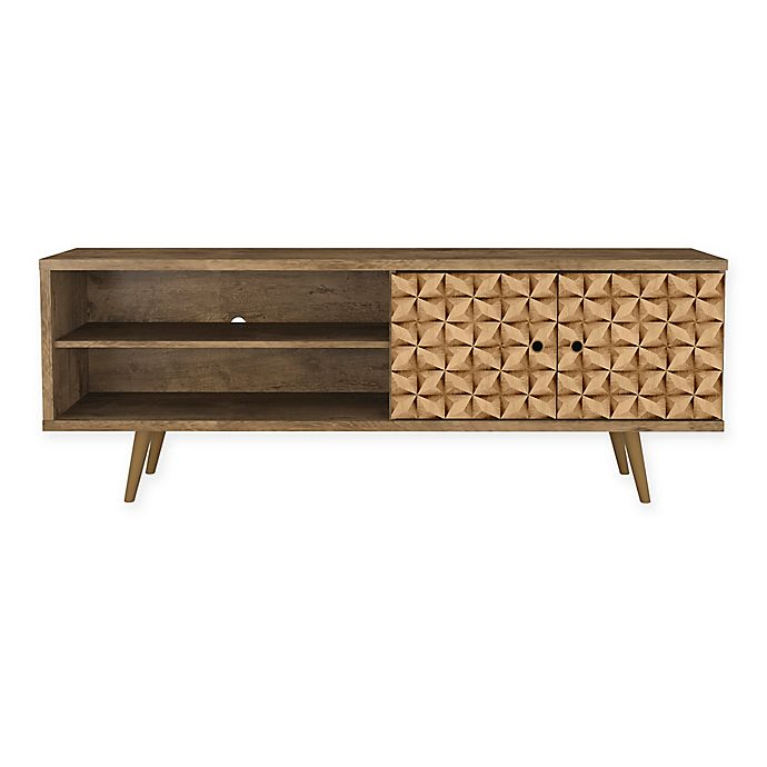 Alternate image 1 for Manhattan Comfort Liberty 62.99-Inch TV Stand with 3D Panel